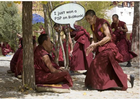 bid monk penny auction