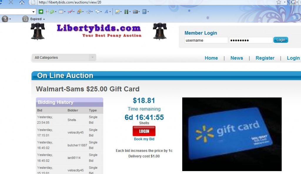 liberty bids august 17