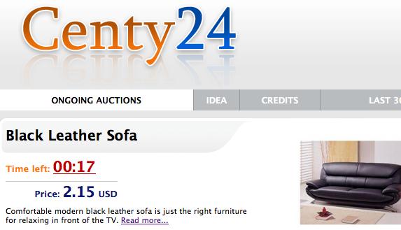 centy24 penny auction