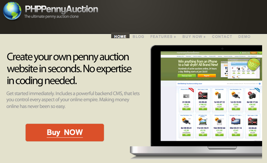 swoopo/penny auction script nulled graphics