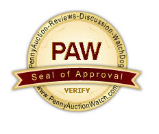 penny auction watch seal of approval