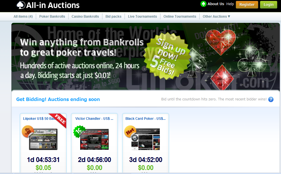 Are penny auctions gambling ho chunck casino wi