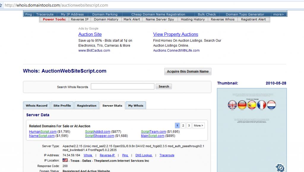 auctionwebsitescript