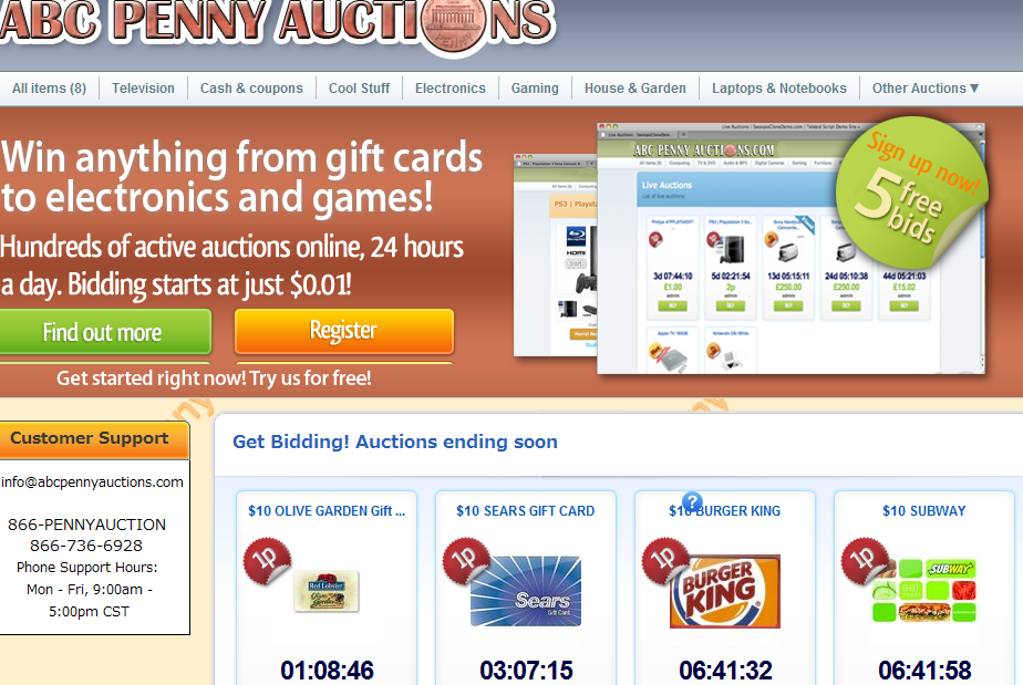 abcpennyauctions