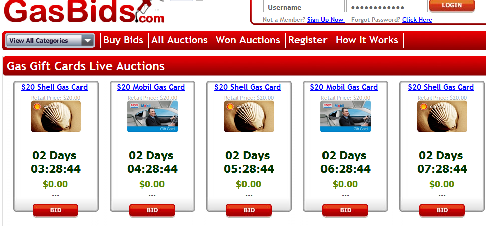 How to Win Online Penny Auctions forecasting