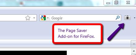 page saver addon