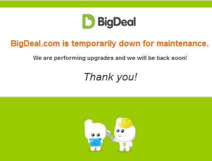 bigdeal shuts down