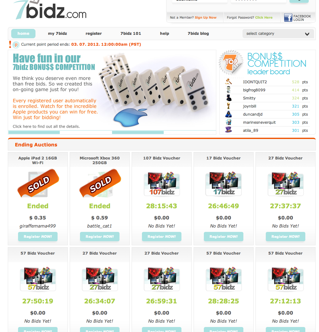 7bidz.com