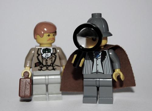 Sherlock Holmes Legos