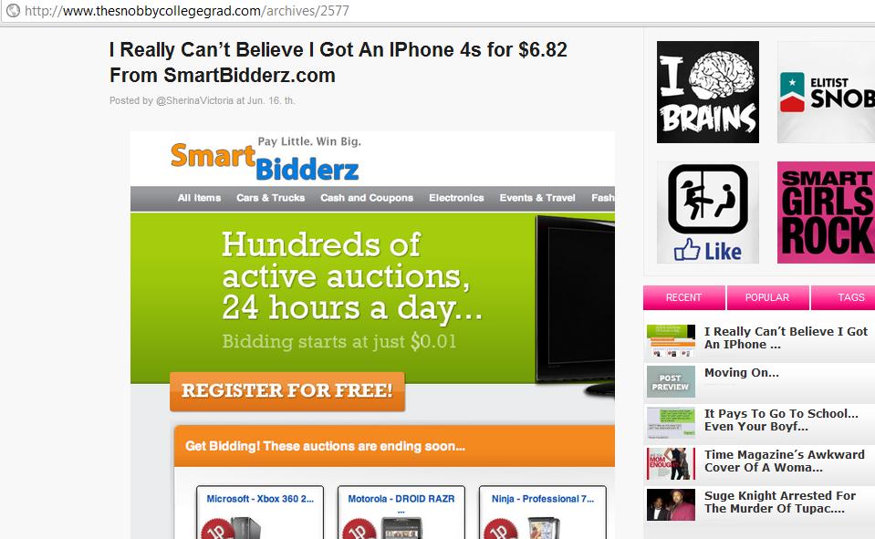 smartbidderz scam alleged