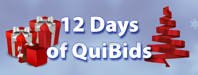 quibids holiday giveaway