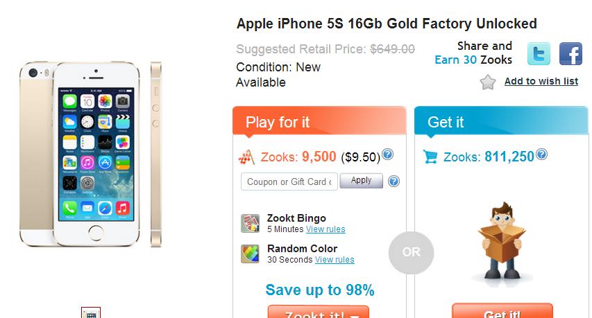 zookt iphone item